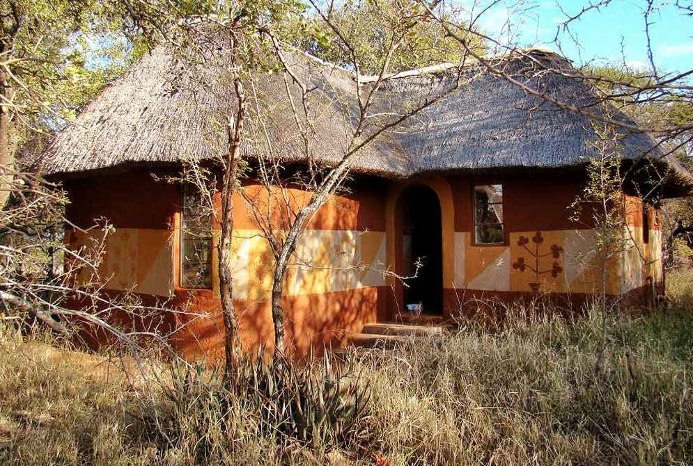 Thatched Rondavel at Melorani Safaris Hunting Lodge